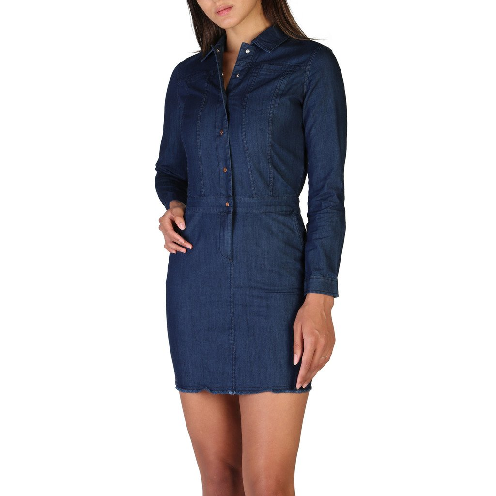 Calvin Klein Women's Dress Blue J20J206063 - blue S