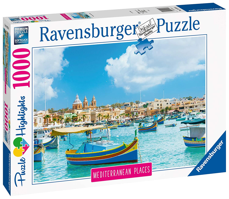 Ravensburger - Puzzle 1000 - Medierranean Malta (10214978)