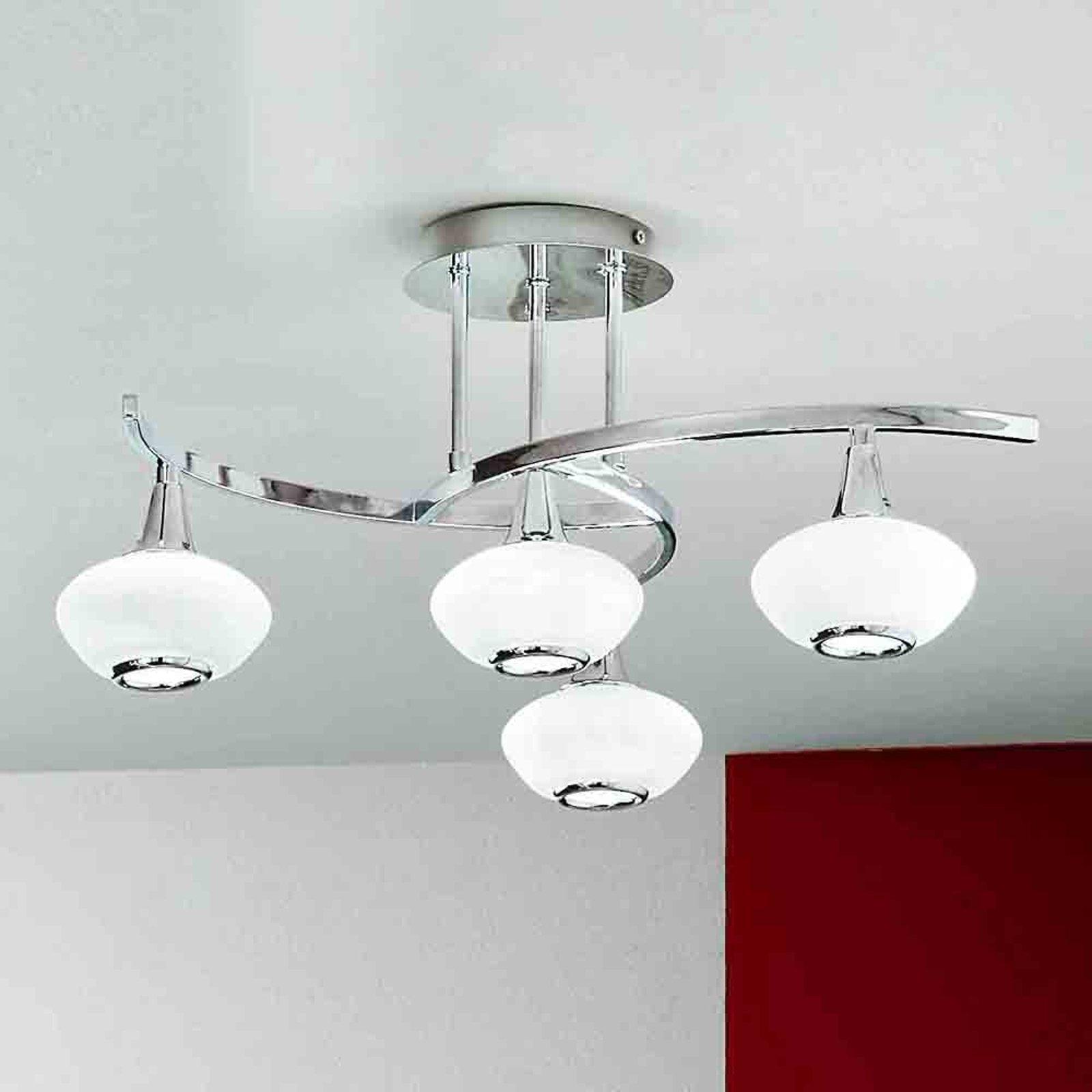Interessant LURANA taklampe med fire lys