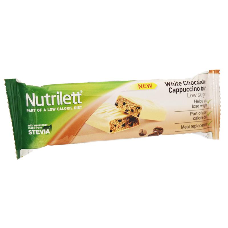 """Nutrilett Bar """"White Chocolate & Cappuccino"""" - 35% rabatt"""