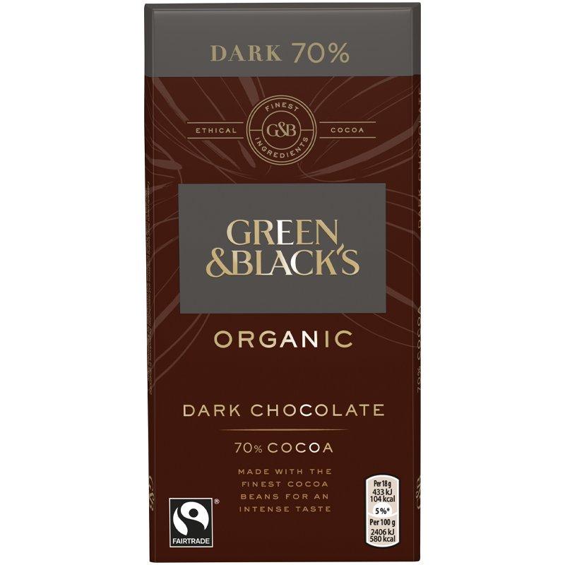 Eko Mörk Choklad 70% - 36% rabatt