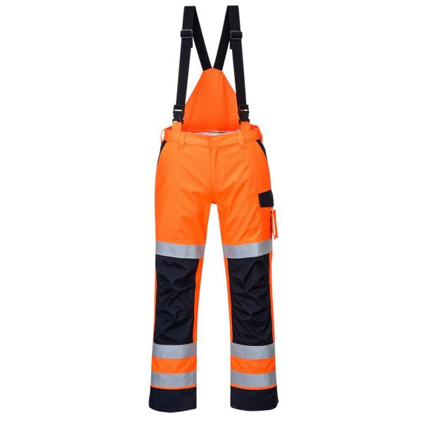Portwest MV71 Byxa Hi-Vis orange, flamskyddad S