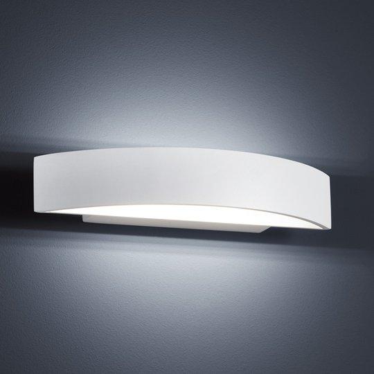 Moderni LED-seinävalaisin Yona, mattavalk, 27,5 cm