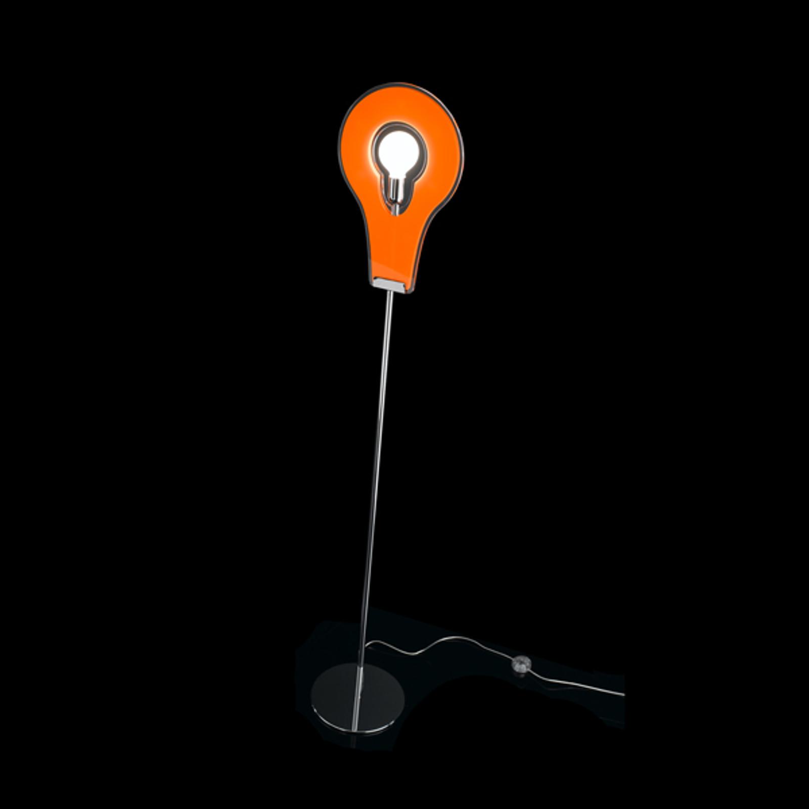Ainutlaatuinen Flat-lattiavalaisin oranssi