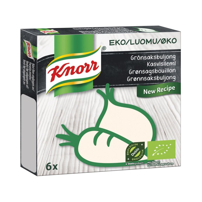 Eko Grönsaksbuljong 6 x 11g - 33% rabatt