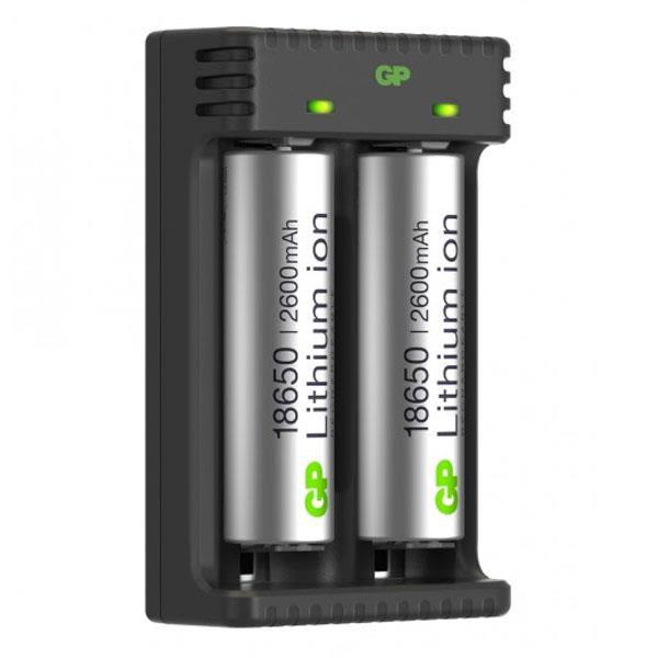 GP Batteries 18650 Batterilader Li-ion 2 kanaler