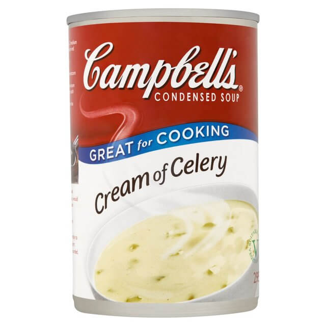 Campbells Condensed Soup Cream of Celery 295g