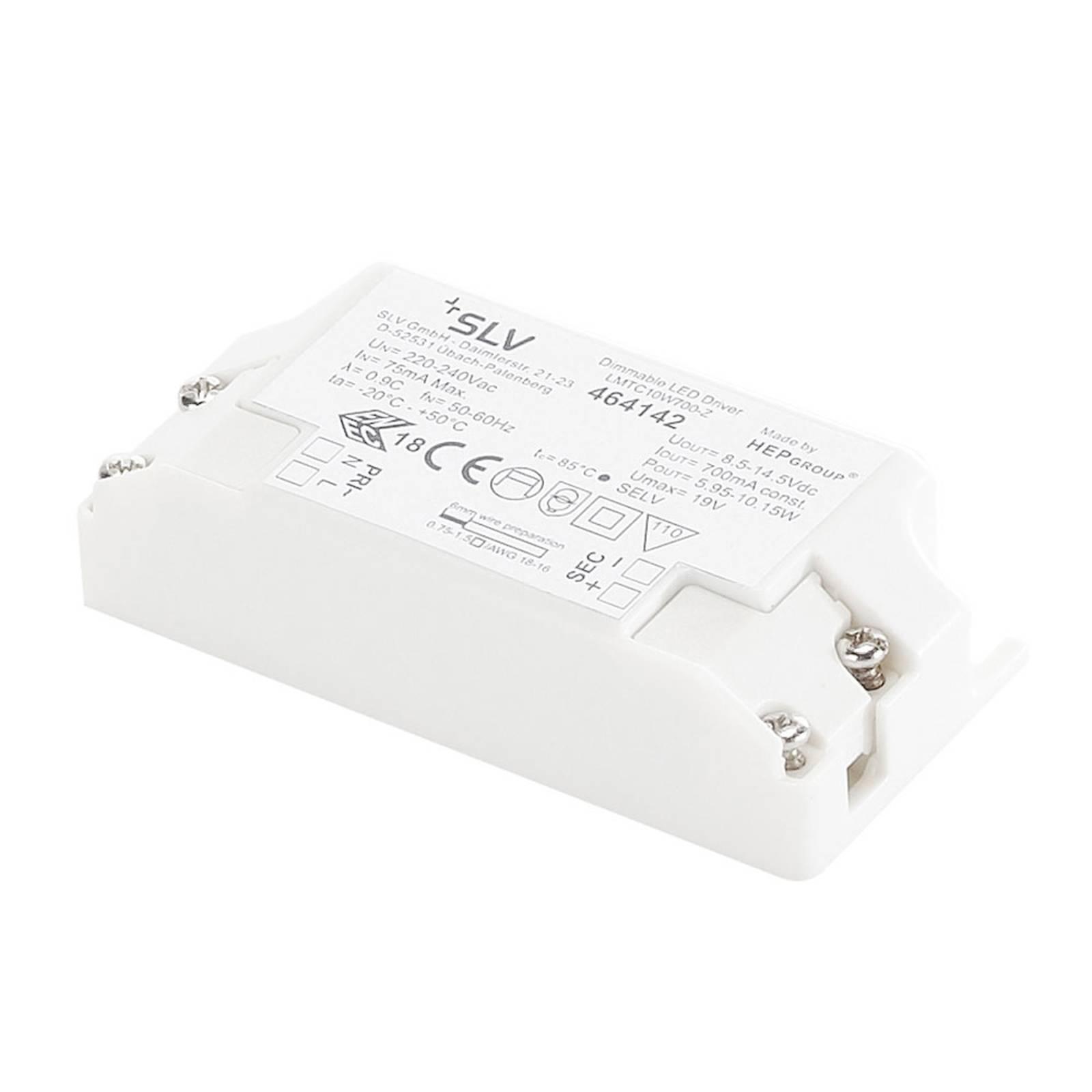 SLV-LED-muuntaja 10,5 W 700 mA, himmennettävä