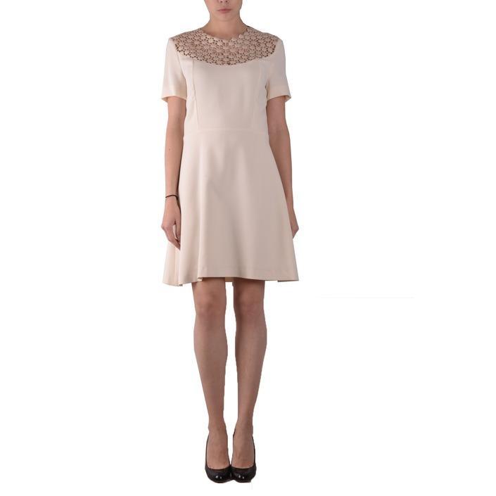 Pinko Women's Dress Beige 161008 - beige 42