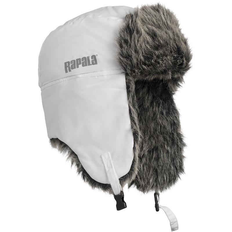 Rapala Trapper Hat Deilig vinterlue - Hvit