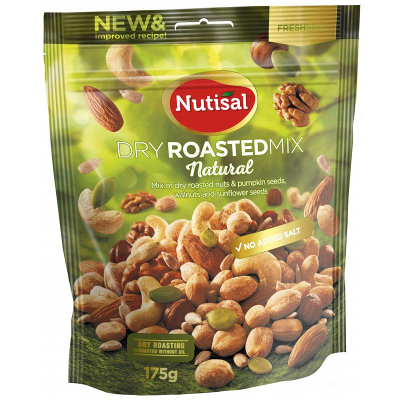 "Nöt- & Frömix ""Dry Roasted"" 175g - 50% rabatt"