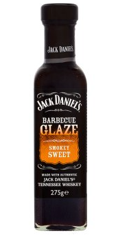 Jack Daniels Barbecue Glaze Smokey Sweet 275g
