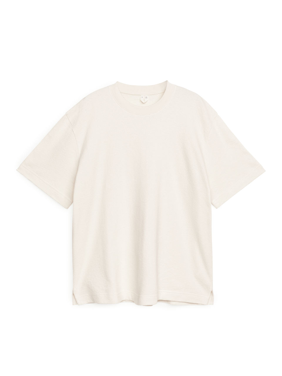 Cotton Towelling T-Shirt - White