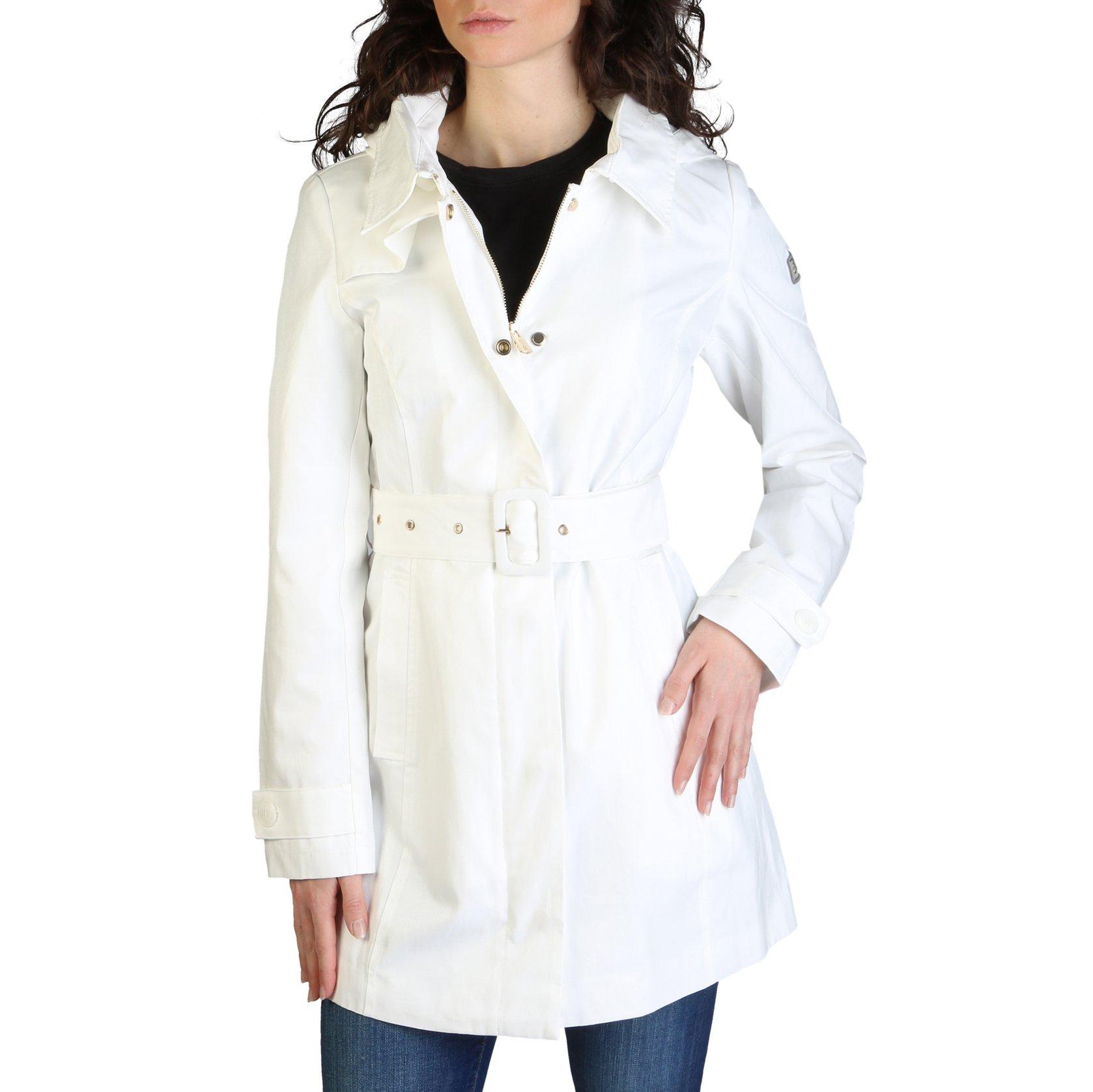 Yes Zee Women's Coat Various Colours O404_SL00 - white XS