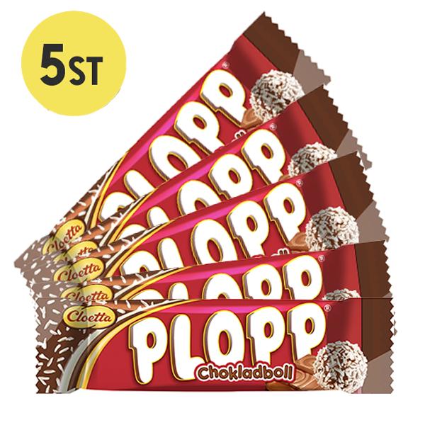 5st - Plopp Chokladboll 12g