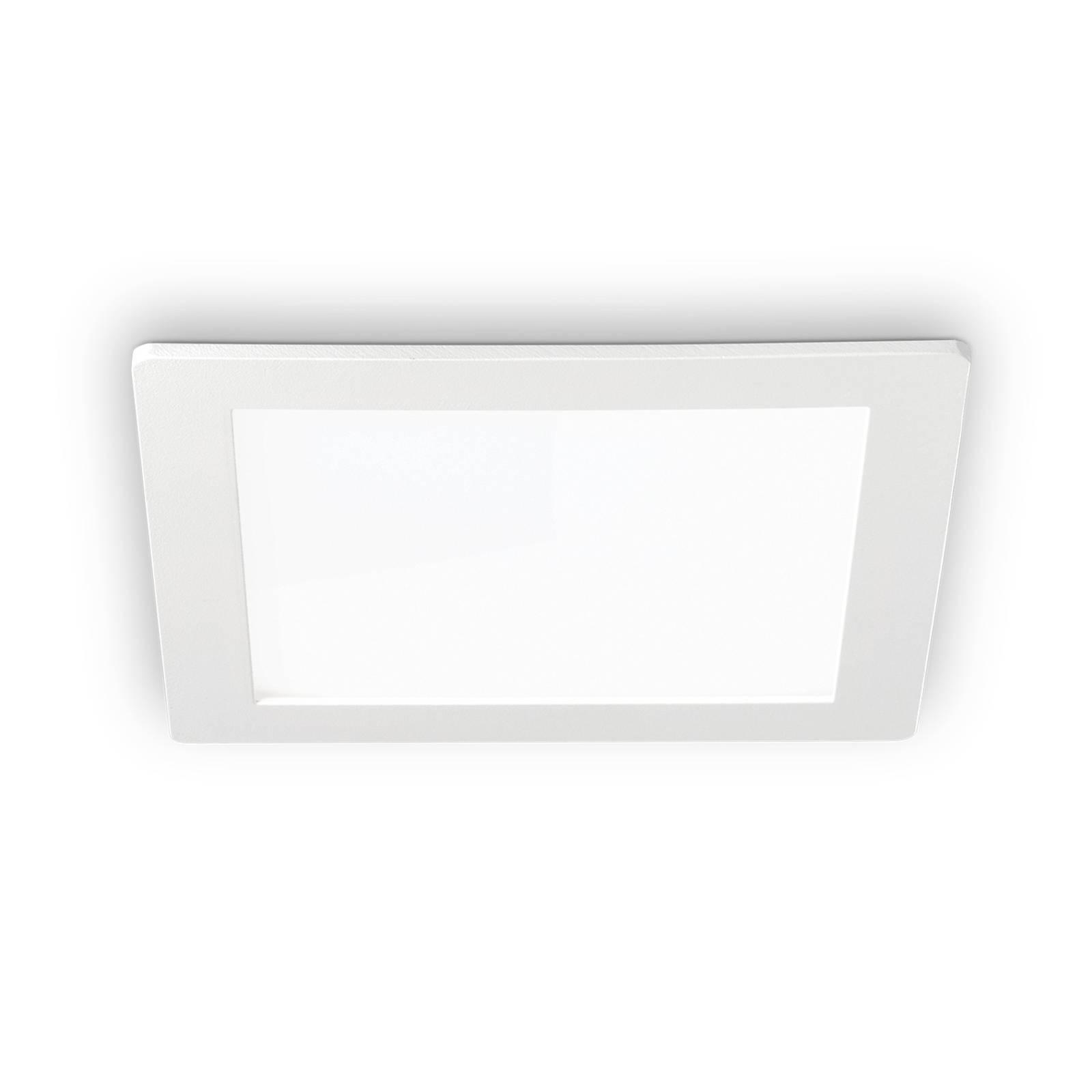 LED-kattouppovalaisin Groove square 16,8 x 16,8 cm