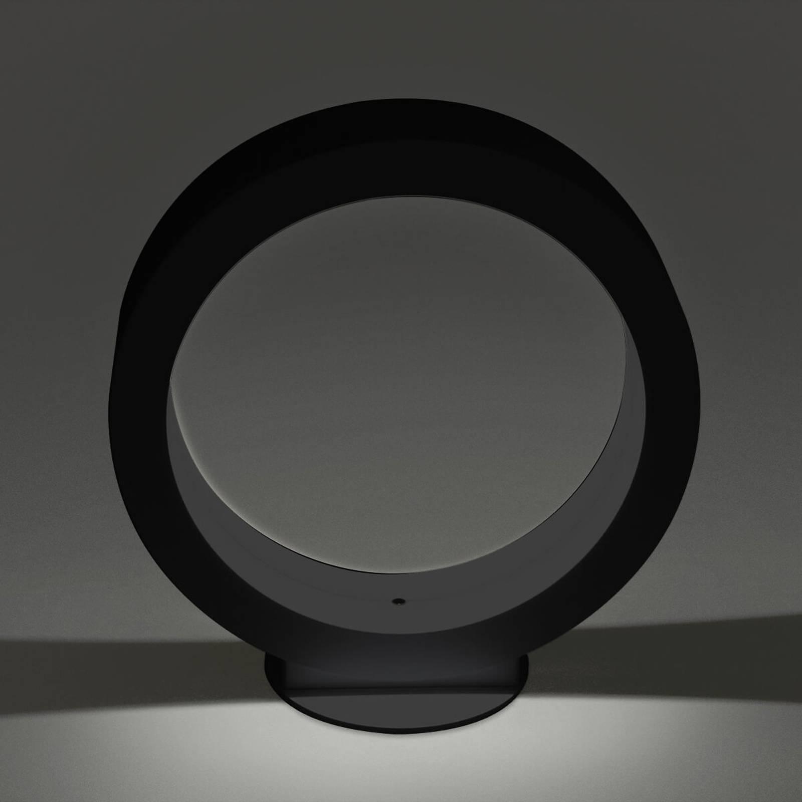 Cini&Nils Assolo - LED-kattovalaisin musta, 20 cm