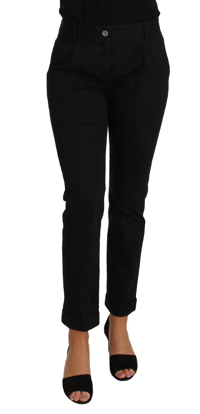 Dolce & Gabbana Women's Trouser Black PAN61088 - IT40|S