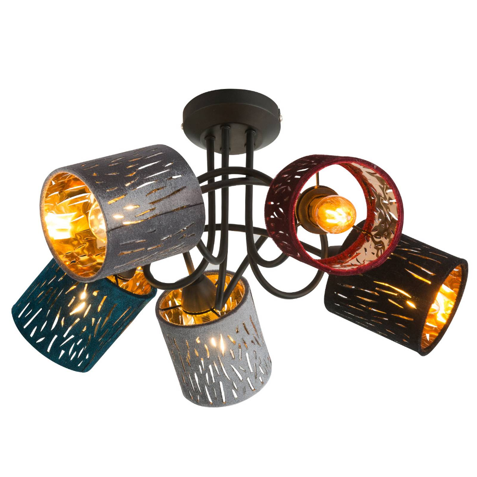 Kattovalaisin Ticon 5-lamppuinen