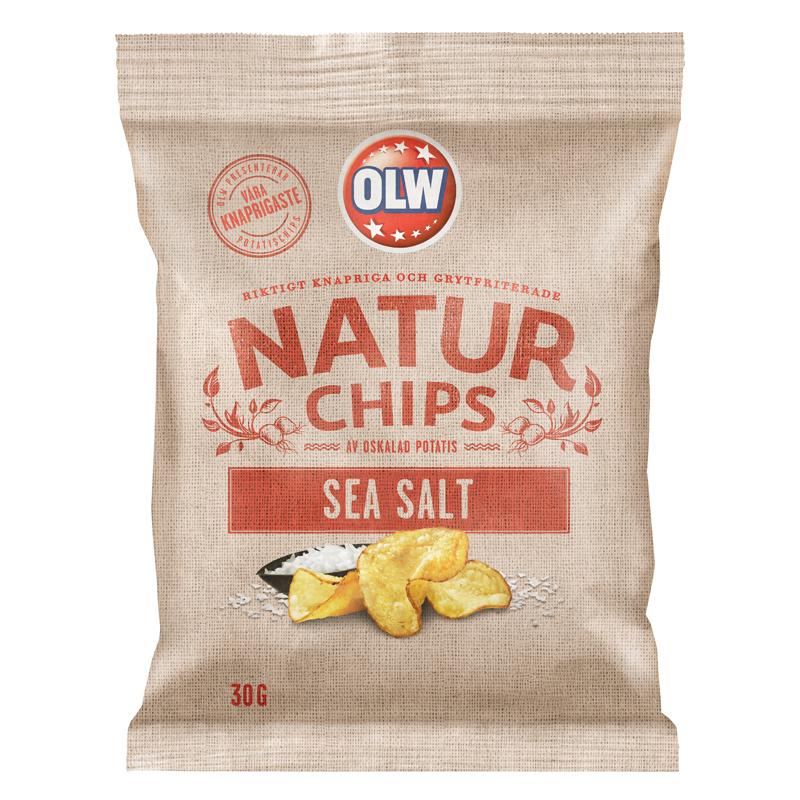 Chips Havssalt 30g - 29% rabatt