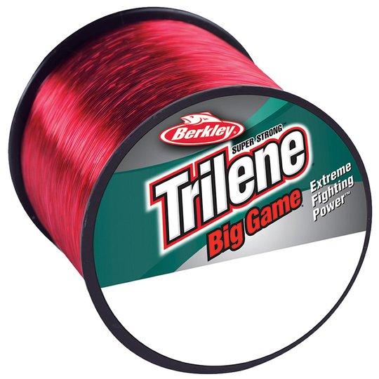 Berkley Trilene Big Game röd monofilament lina
