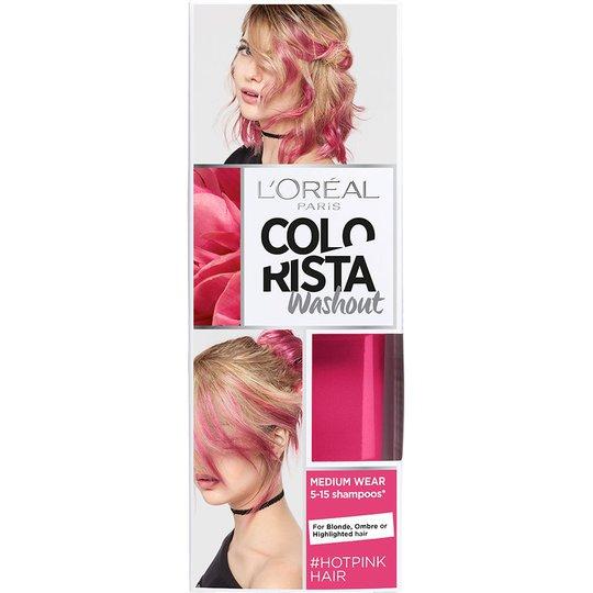 Colorista Washout #Hotpink, L'Oréal Paris Poispestävä hiusväri