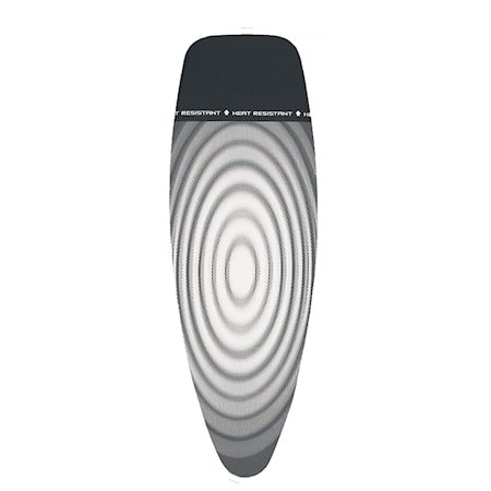 Trekk Stl D bomull, 2mm skum, Heat Resistant Parking Zone 135x45 cm Oval Titan