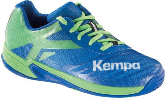 Kempa Wing 2.0 JR, Blå/Grønn 38