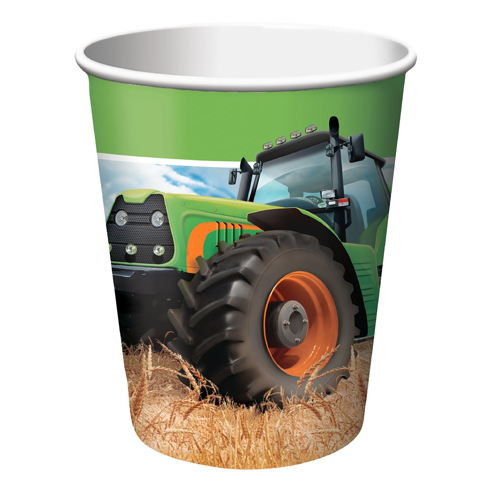Pappersmuggar Tractor Time - 8-pack