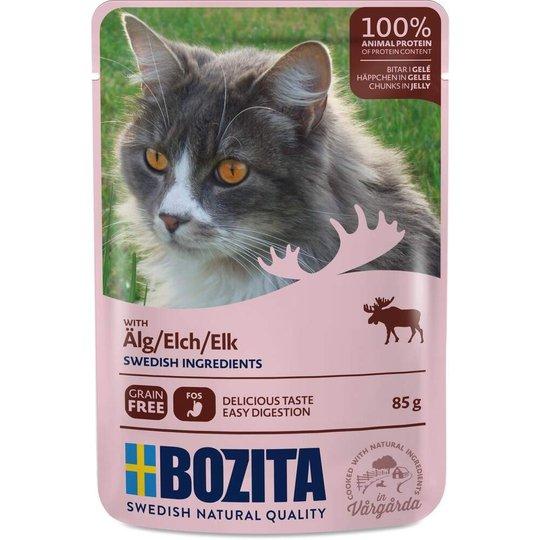 Bozita Cat Älg i Gelé