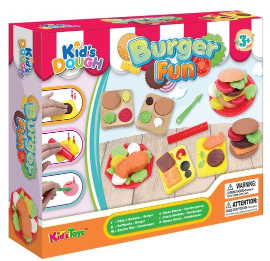 Kid's Dough Modellkitt Hamburger