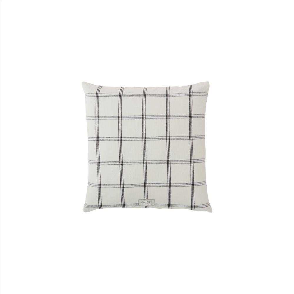 OYOY Living - Kyoto Square Organic Cushion - Offwhite