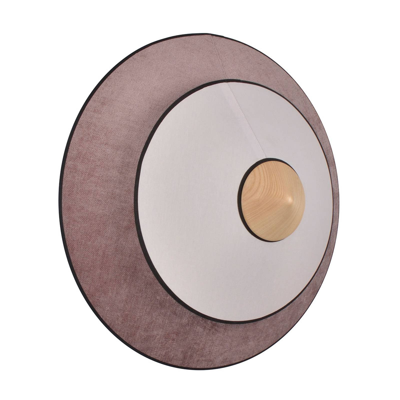 Forestier Cymbal S LED-vegglampe, pudderrosa