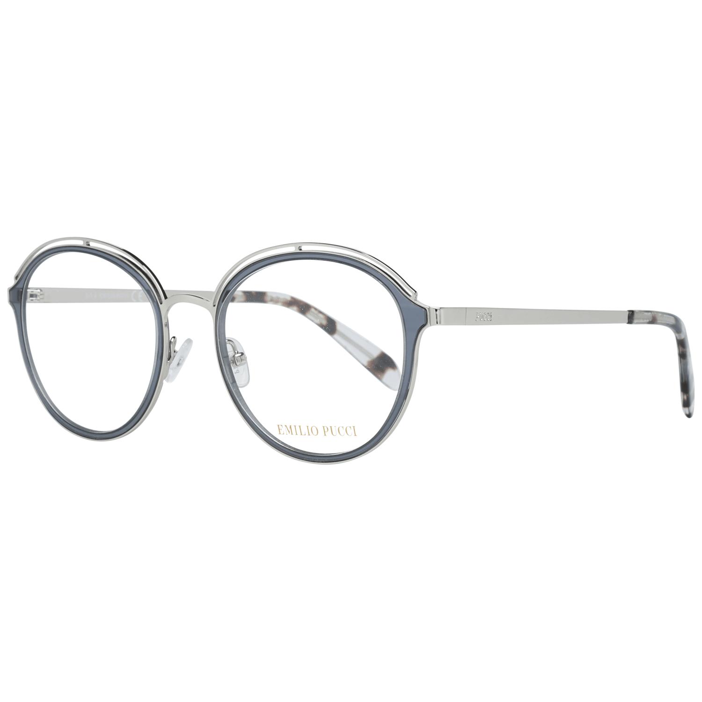 Emilio Pucci Women's Optical Frames Eyewear Silver EP5075 49005