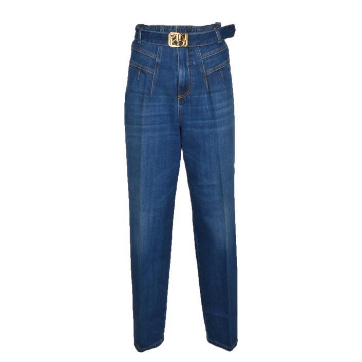 Pinko - Pinko Women Trousers - blue w24