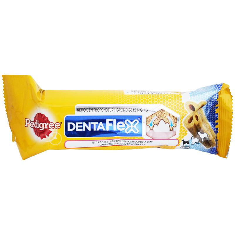"""Hundgodis """"Dentaflex Mini"""" 40g - 34% rabatt"""