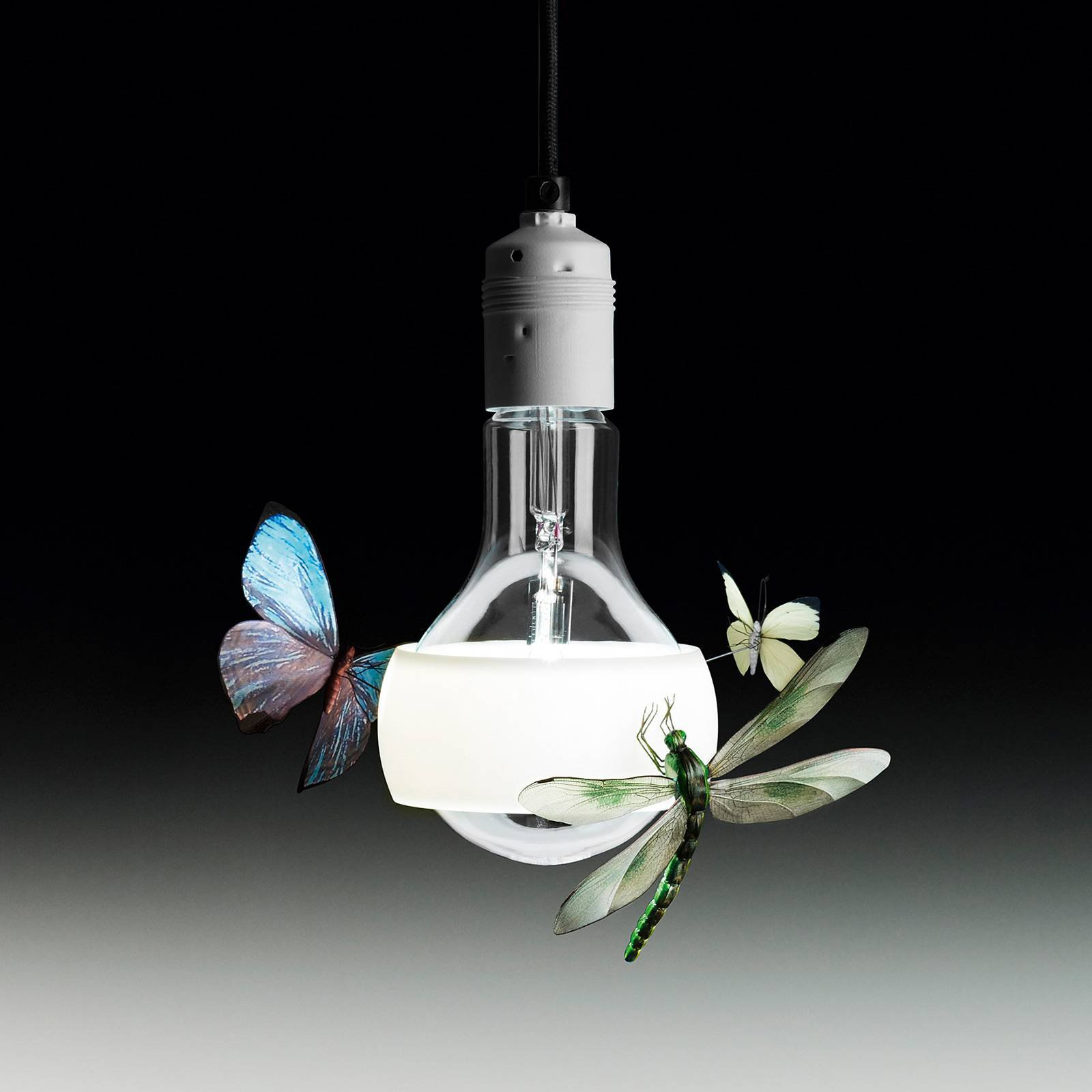 Ingo Maurer Johnny B. Butterfly hengelampe, 170 cm
