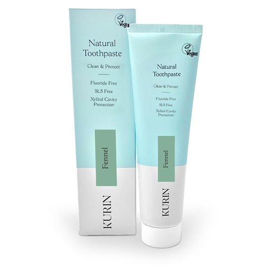 Kurin Natural Toothpaste Fluoride Free - Fennel, 100 ml