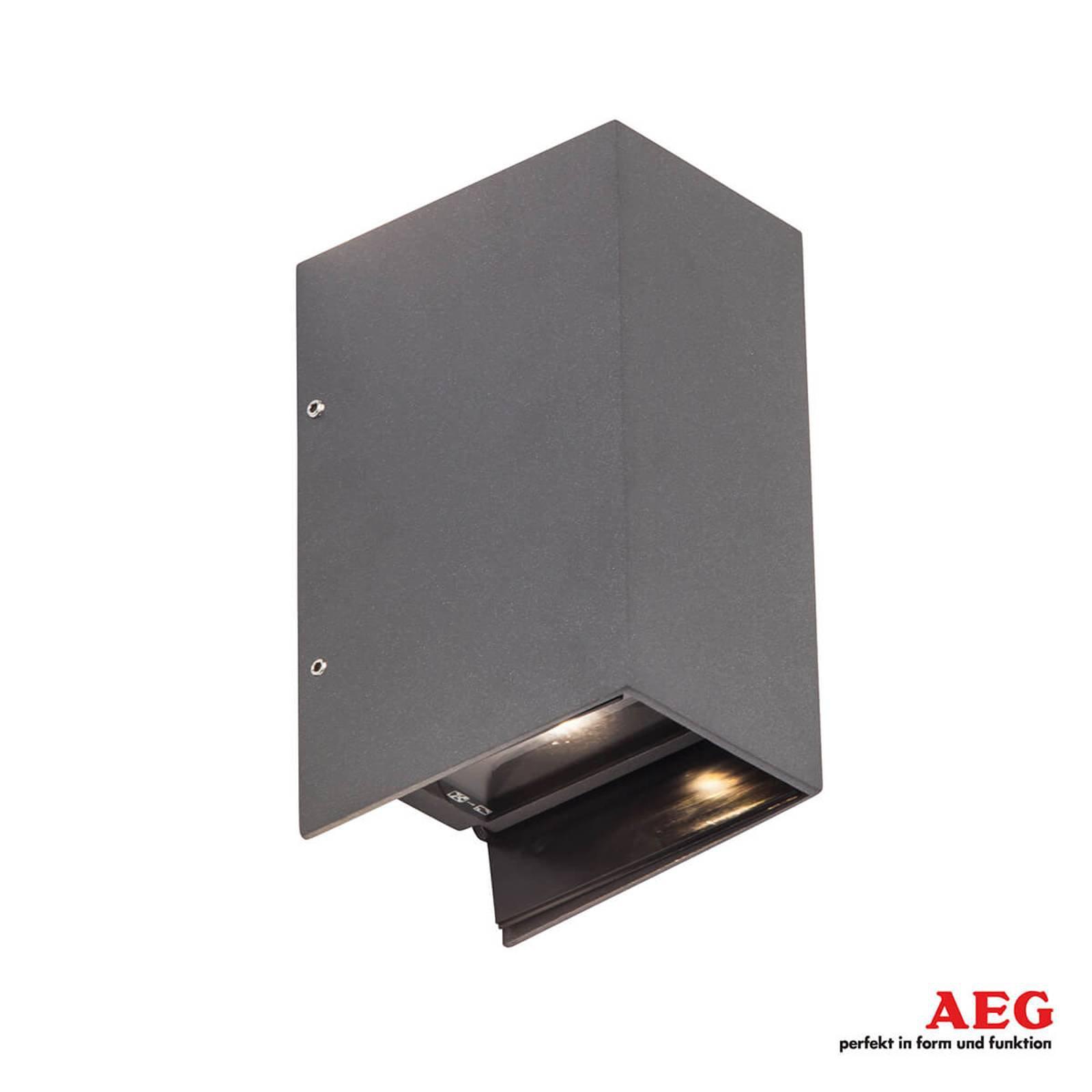 Adapt LED-utevegglampe med up- og downlight