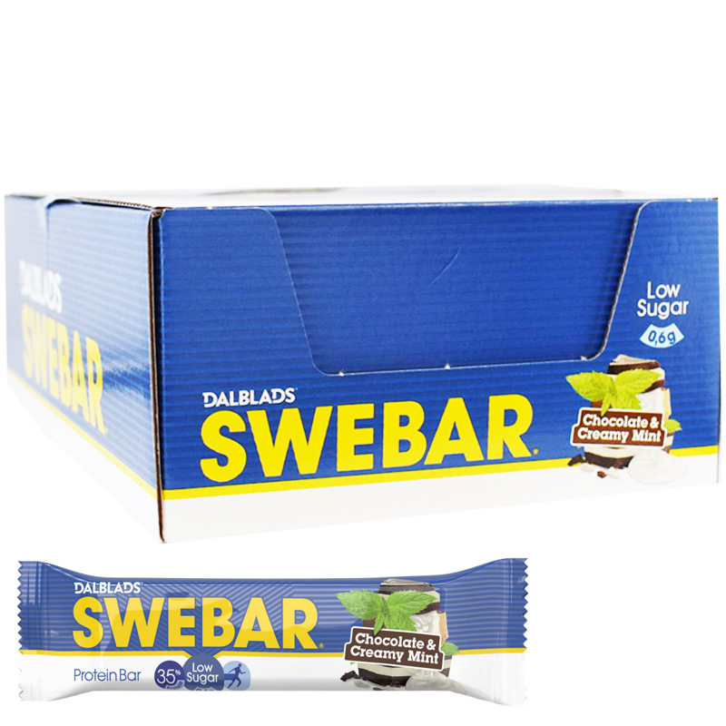Proteinbars Choklad & Mint 18-pack - 46% rabatt