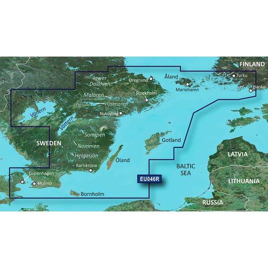 Garmin BlueChart g3 HD HXEU046R sjökort över sydöstra Sverige