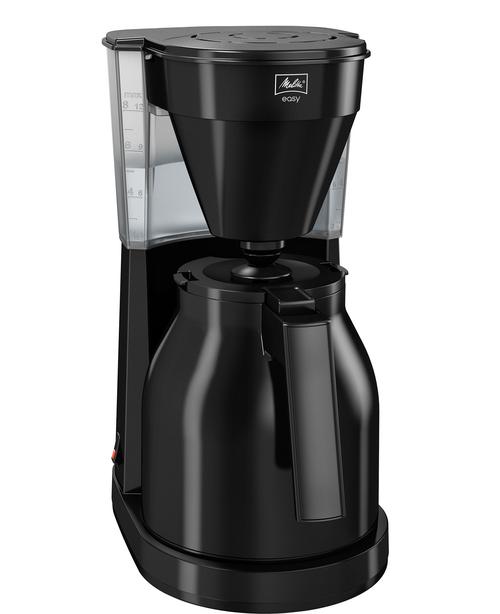 Melitta Easy Therm 2.0 Black Kaffebryggare - Svart