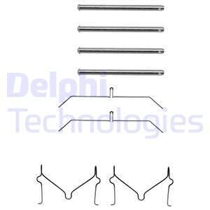 Tarvikesarja, jarrupala DELPHI LX0145