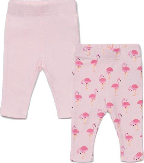 Tiny Treasure Lexi Leggings 2-Pack, Pink/Flamingo 56