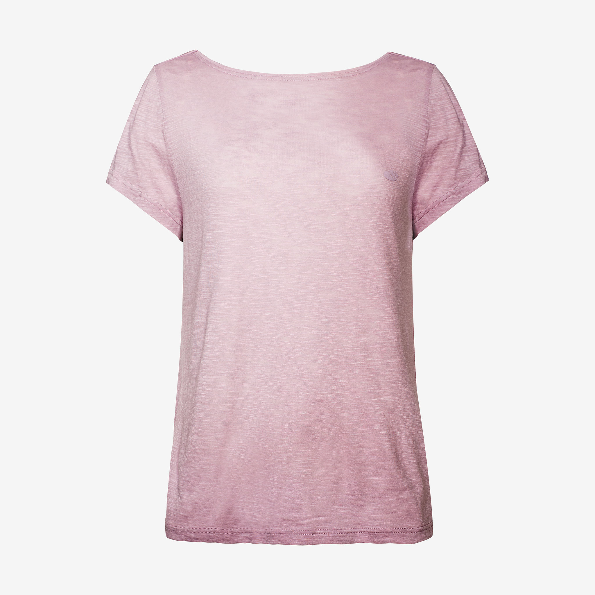 T-shirt med knut i ryggen
