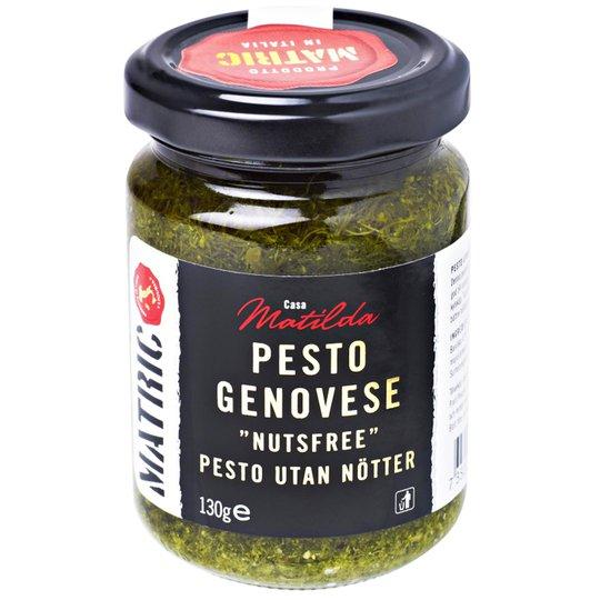 """Pesto """"Genovese Nutsfree"""" 130g - 44% rabatt"""