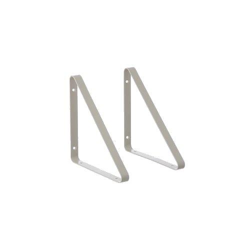 Ferm Living - Shelf Hangers set of 2 - Grey (4132)