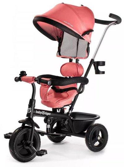 Kinderkraft Baby Tiger Trehjuling FLY, Korall