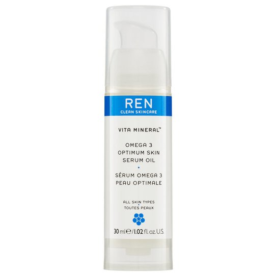 Vita Mineral Omega 3 Optimum Skin Serum Oil, 30 ml REN Seerumi