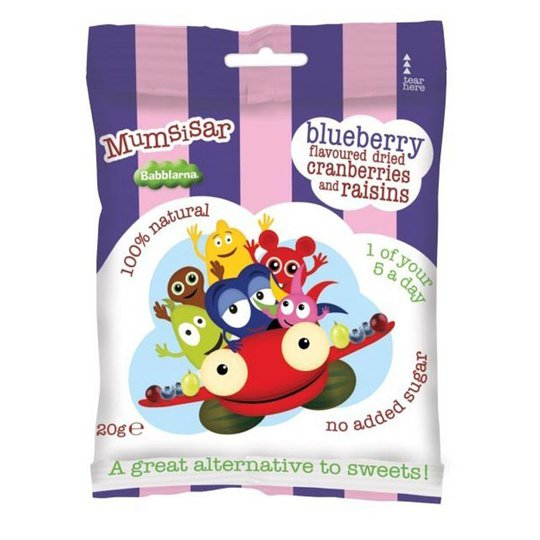 Godis Blueberry Flavoured Dried Cranberries & Raisins - 25% rabatt